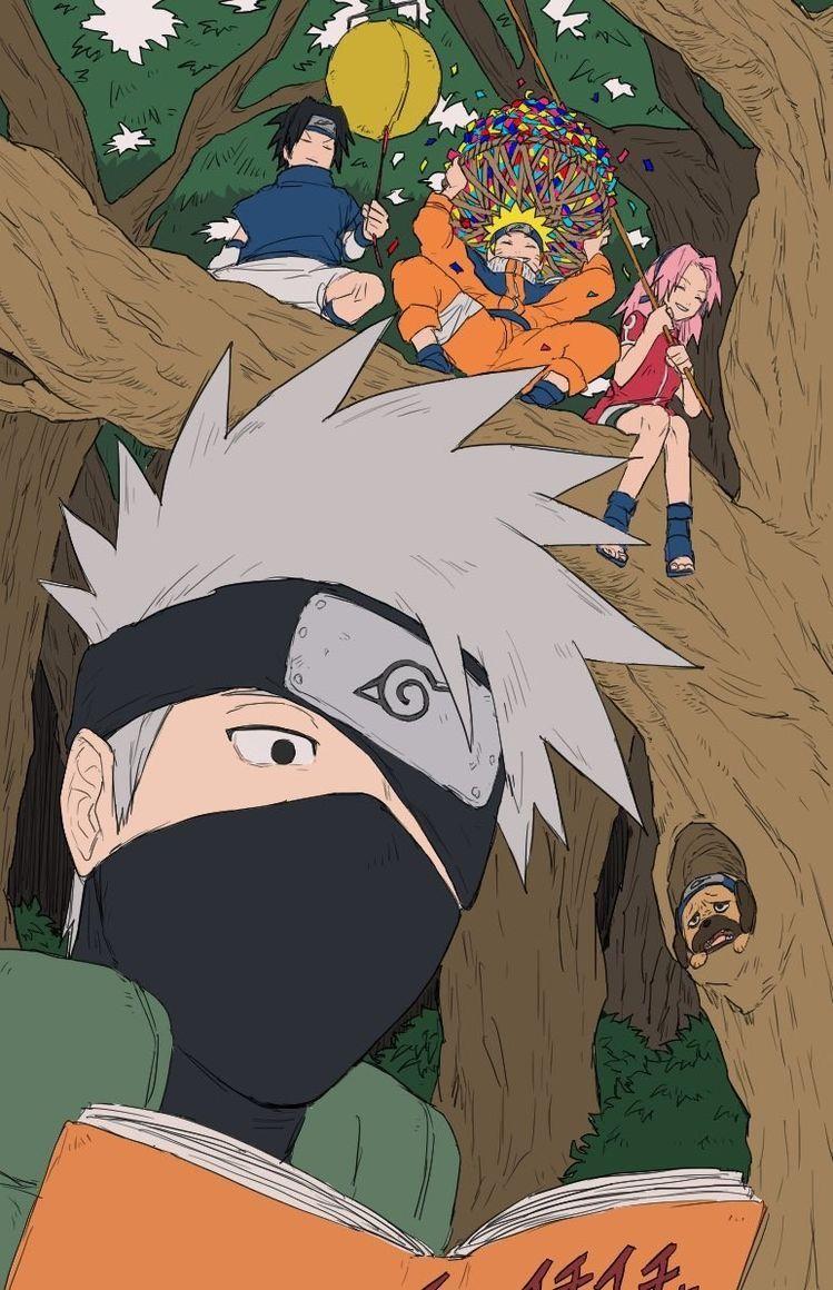 Naruto Shippuden Kakashi Hatake はたけ カカシ ฮาตาเกะ คาคาช Narutoファンアート カカシ イラスト カカシ