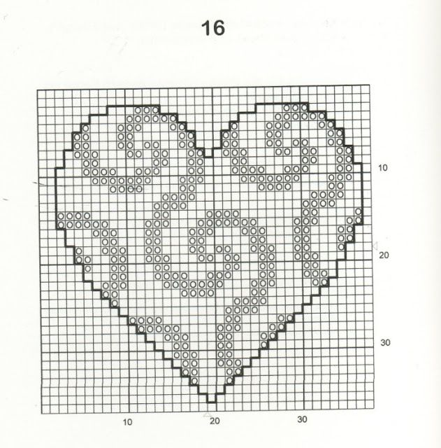 30 Free Easy Heart Cross Stitch Patterns Cross Stitch Bookmarks