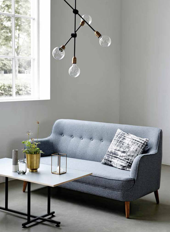 House Doctor Moments Collection A/W The Simple Palette And The Light  Fixture. Simple And Centered.