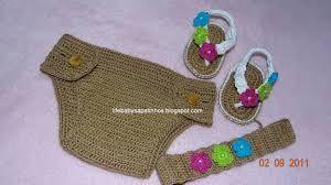 sandalias de croche para bebe - Pesquisa do Google