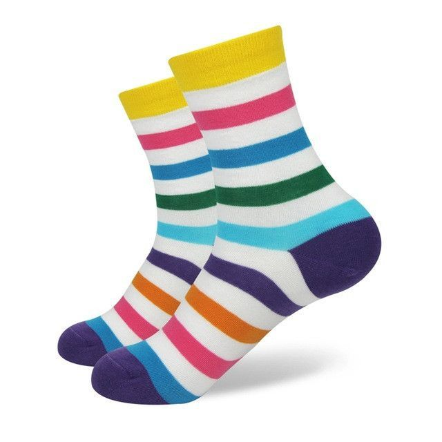 Match-Up Girl Combed Cotton Brand Socks Women Funny Cotton Socks 21 Colors