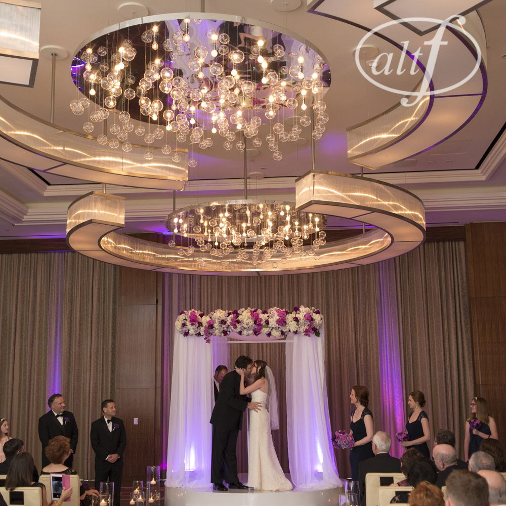 What a Beautiful Ballroom Wedding at the Mandarin Oriental Las Vegas ...