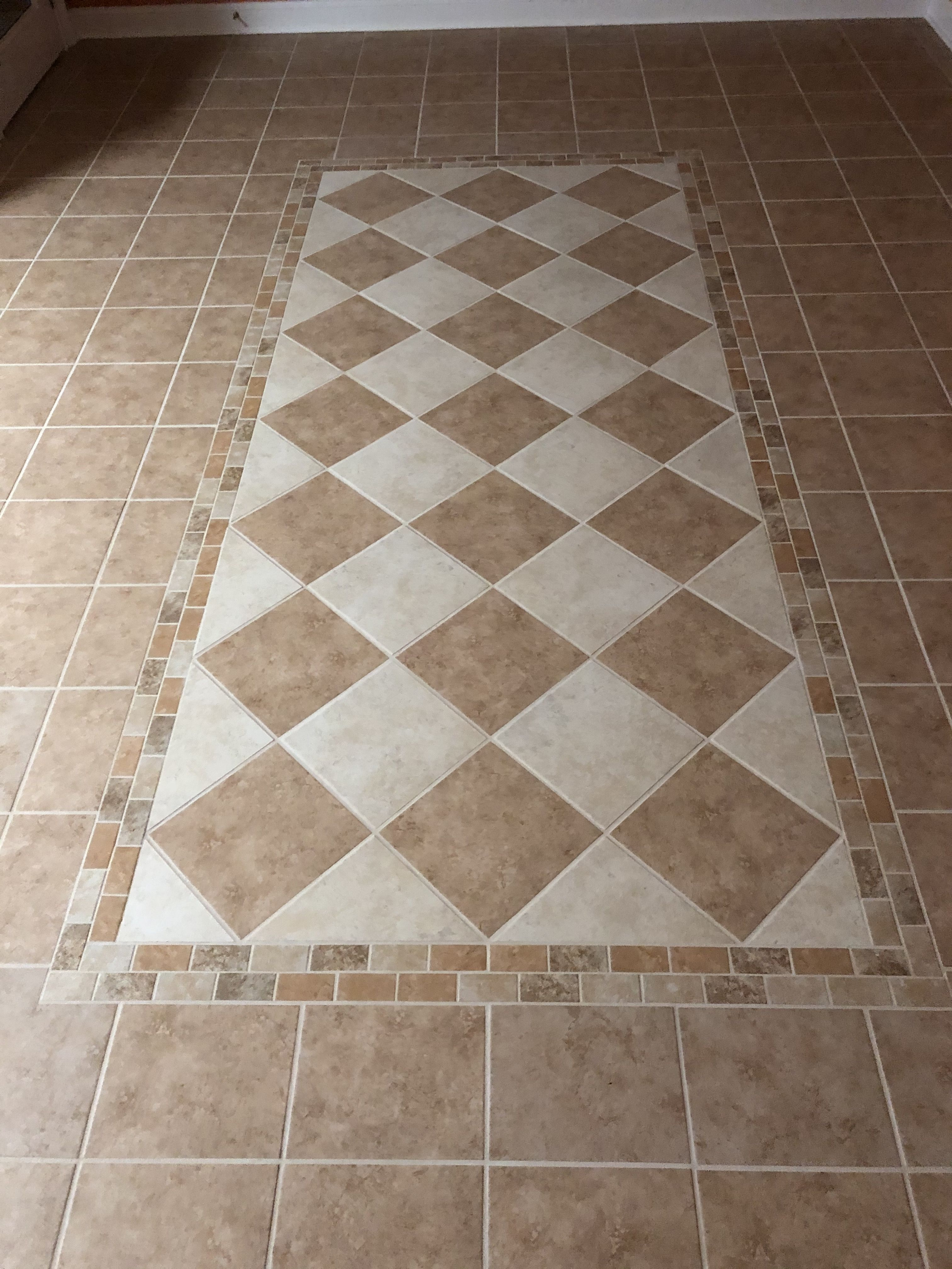 Idea By Carolyn On Patterned Floor Tiles In 2020 Patterned Floor Tiles Floor Patterns Decor