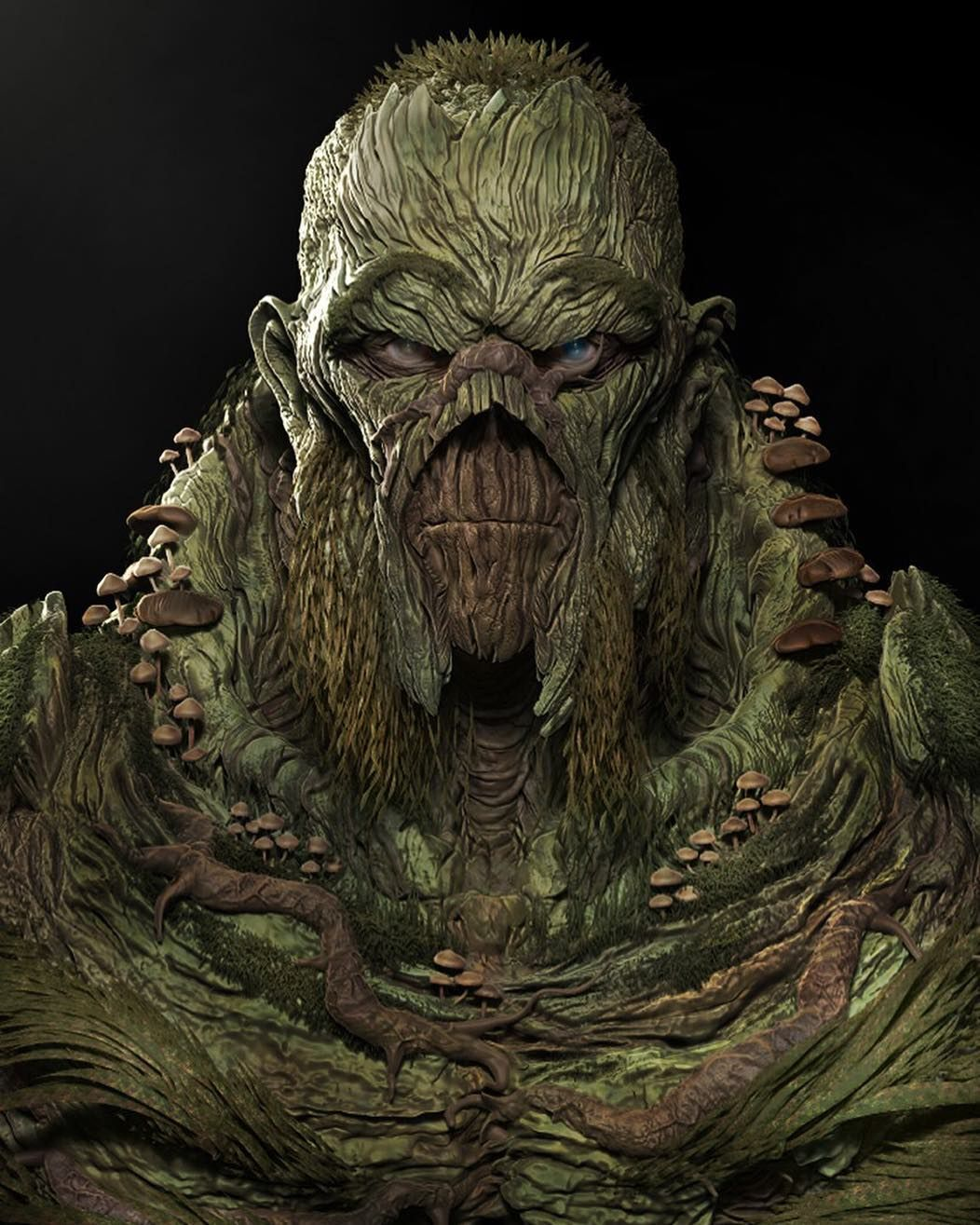 Swamp Thing Do we need to see this guy in the CU? Art by ...