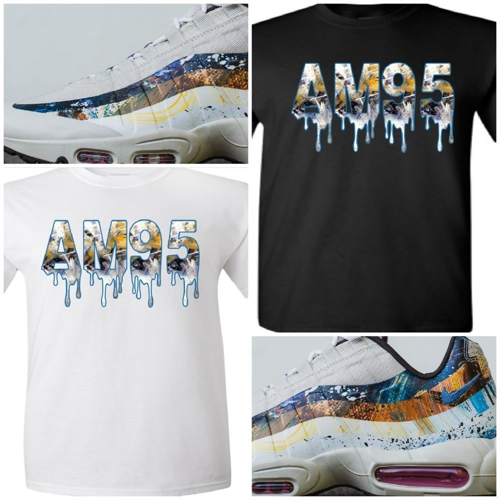 6975bd76 EXCLUSIVE T-SHIRT TO MATCH THE DAVE WHITE x NIKE AIR MAX 95 ALBION PACK-RABBIT  #COPEMCUSTOMS #GraphicTee