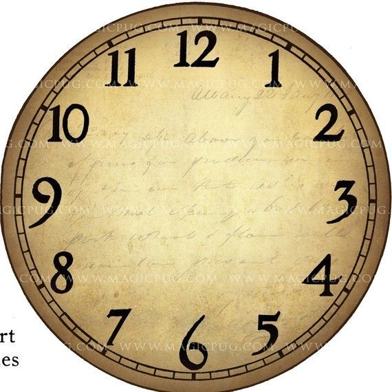 Clock Face Template  Clocks  Clock Faces  Clock Face Templates