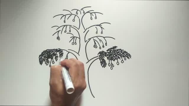 Pin Oleh Jangkol Di Yang Saya Simpan Di 2021 Menggambar Pohon Gambar Orang