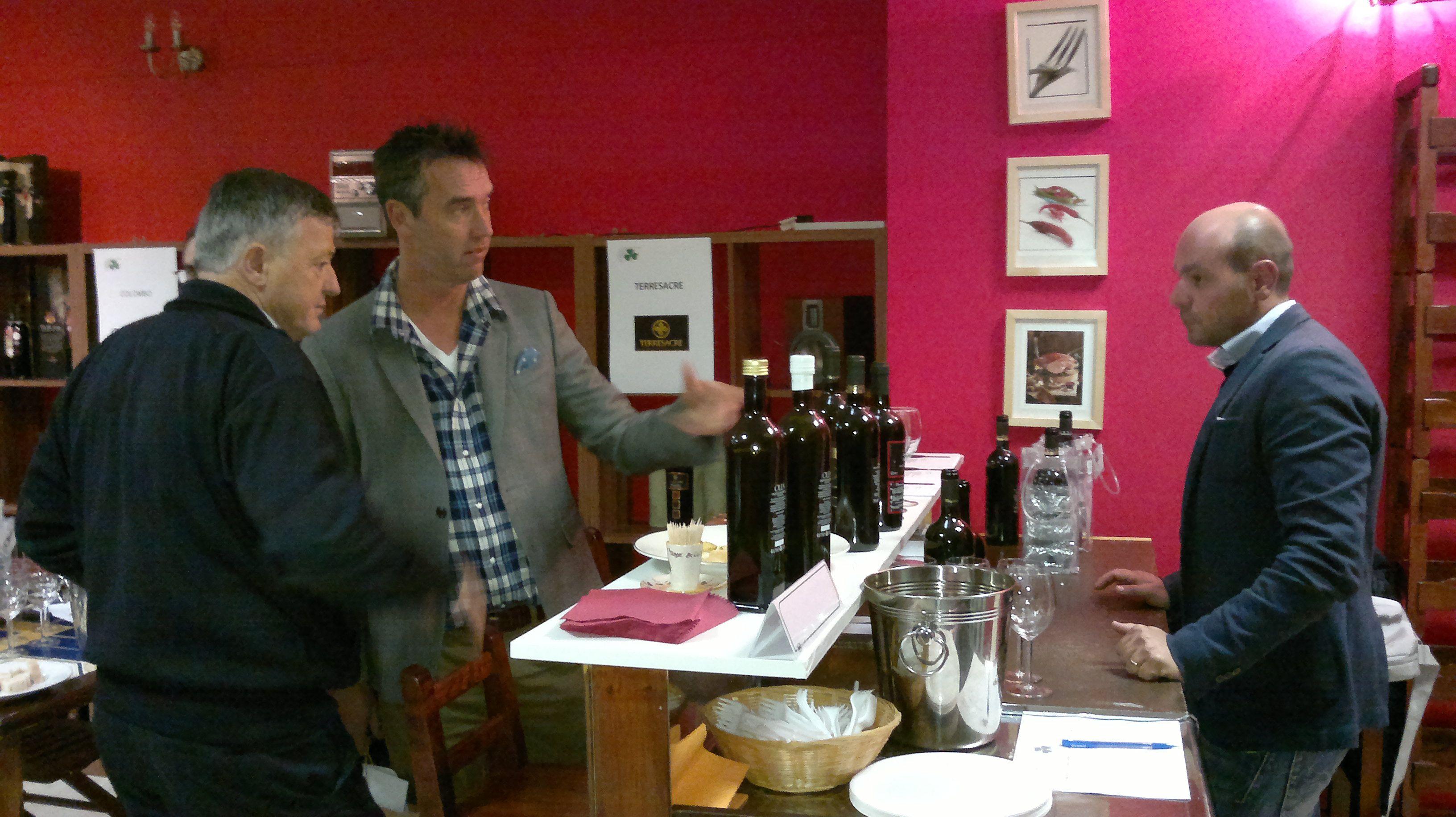Il vino è uno dei grandi protagonisti dei nostri incontri con Irish wine importers