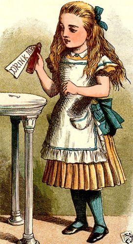 Alice-Drink-Me-Alice-in-Wonderland-John-Tenniel-c1865-Fine-Giclee-Print