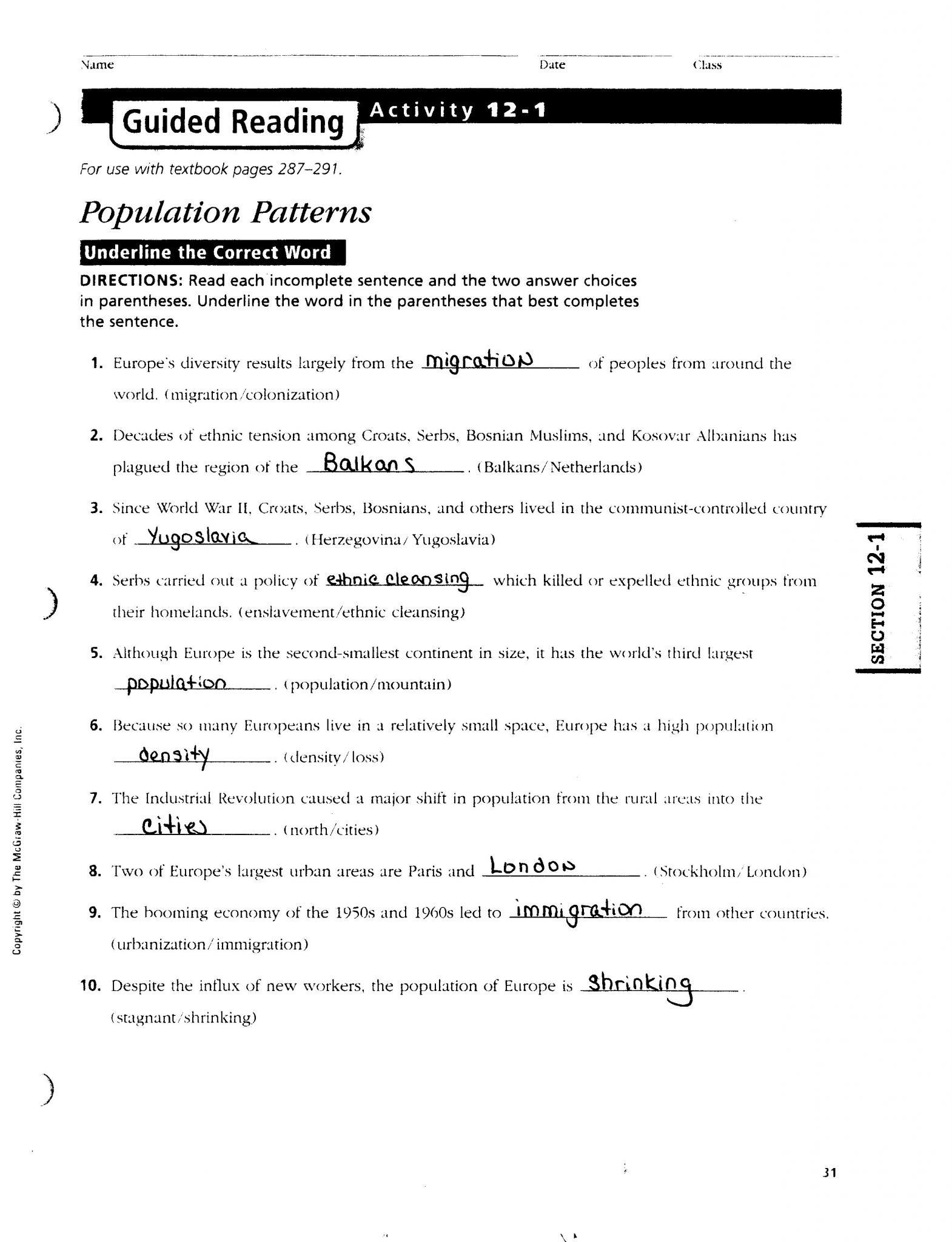 Linearreadable America The Story Of Us Civil War Worksheet