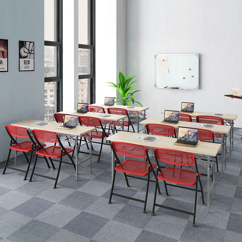 High Quality Cheap Price Metal Base Training Desk Modern Square - Cheap meeting table