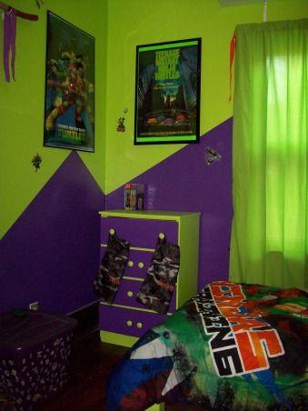 ninja turtle bedroom themes  Google Search  kids bedroom  Ninja turtle room Ninja turtle