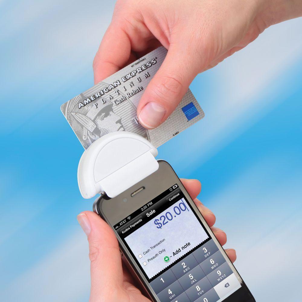 The Smartphone Credit Card Terminal Hammacher Schlemmer Credit Card Terminal Mobile Credit Card Hammacher Schlemmer