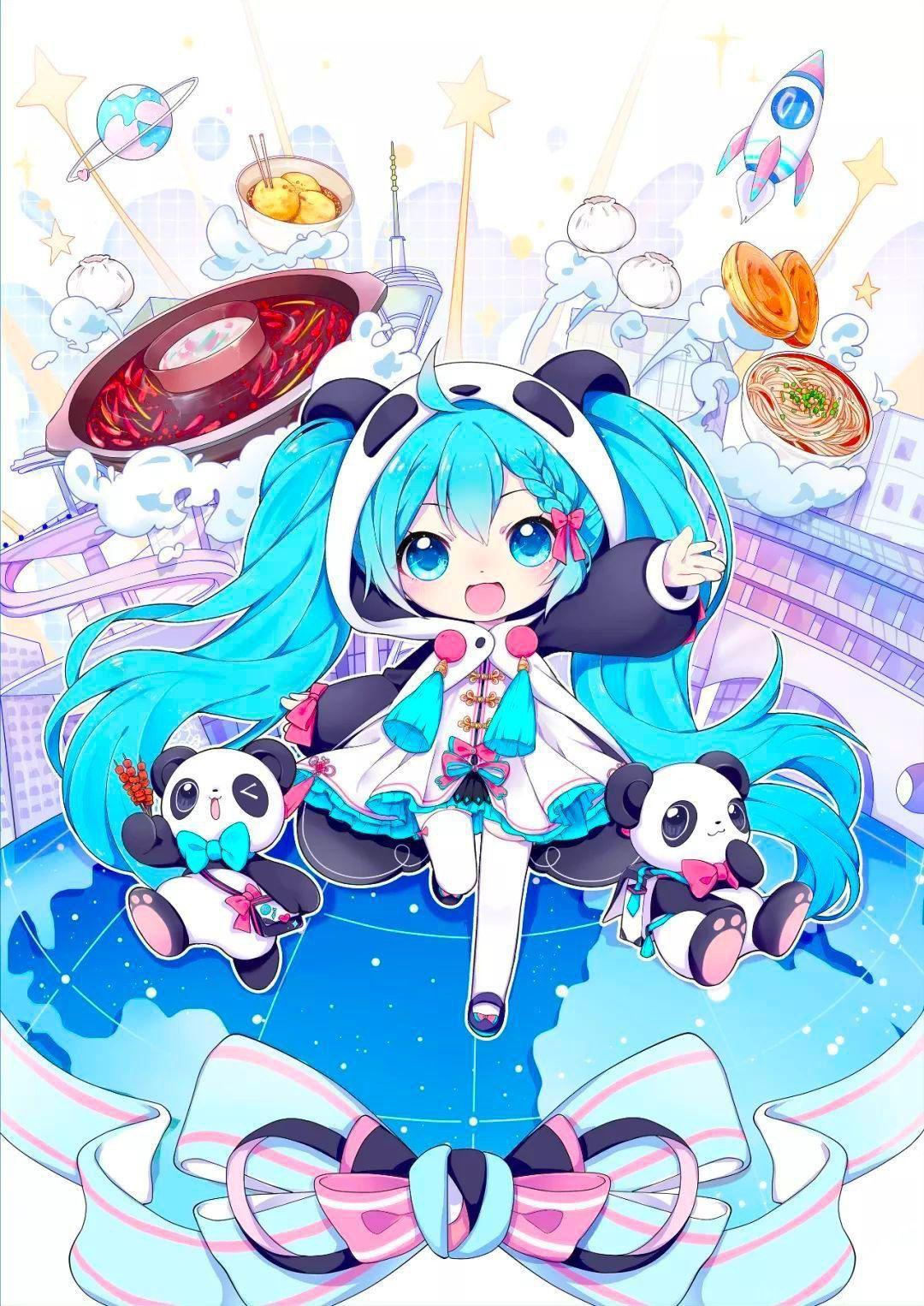 Miku Hatsune Vocaloid Hatsune Miku Vocaloid Anime