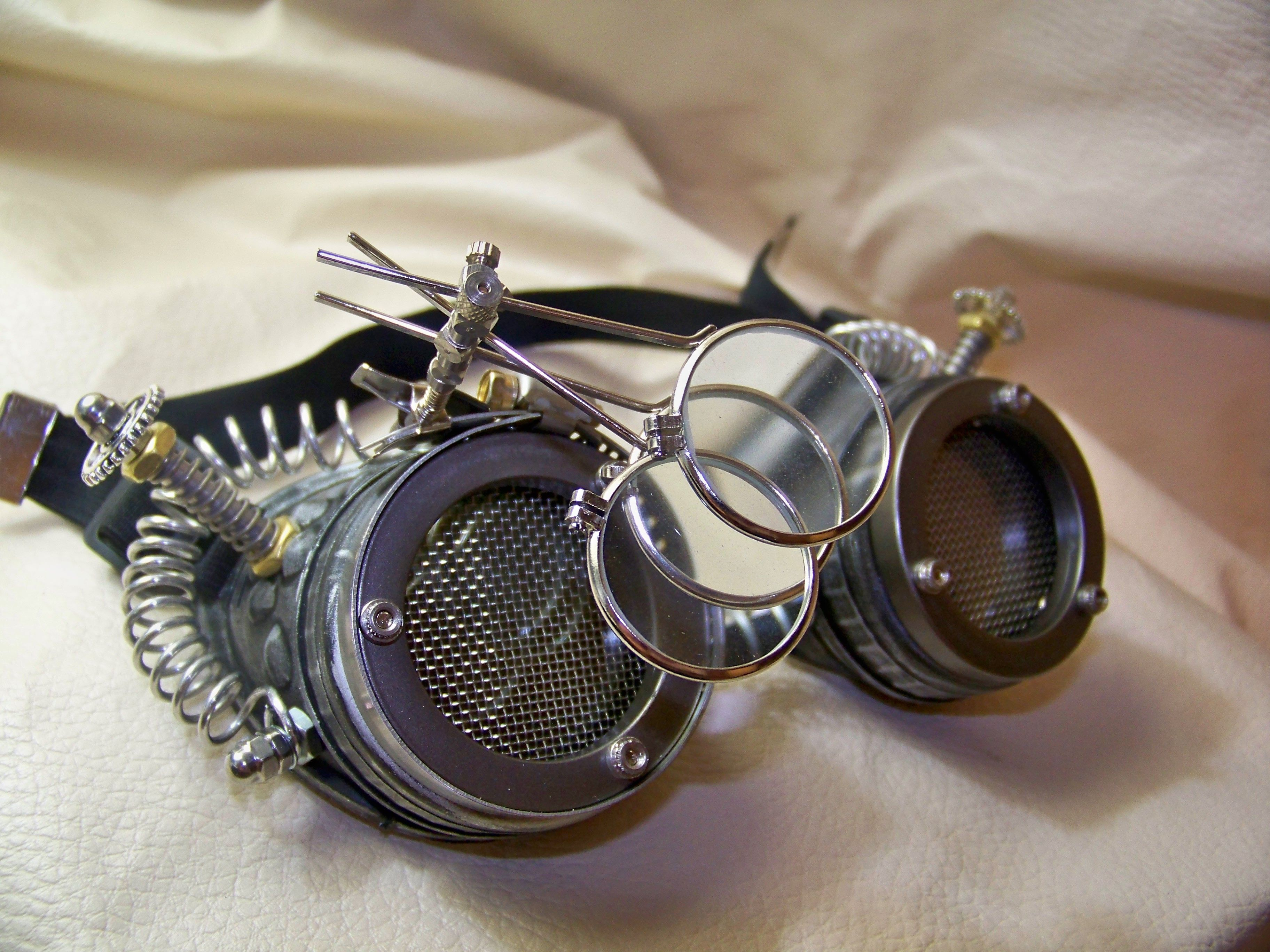 Steam Punk Engineer Goggles