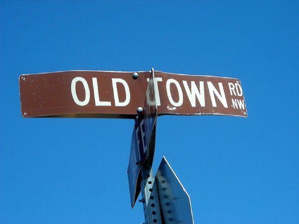 Albuquerque, New Mexico. Old Town Albuquerque.