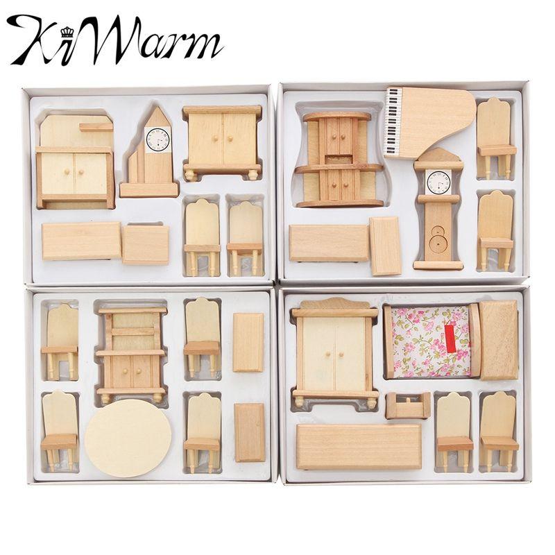 Pas Cher Kiwarm Moderne 29 Pcs Ensemble 1 24 Echelle Maison De