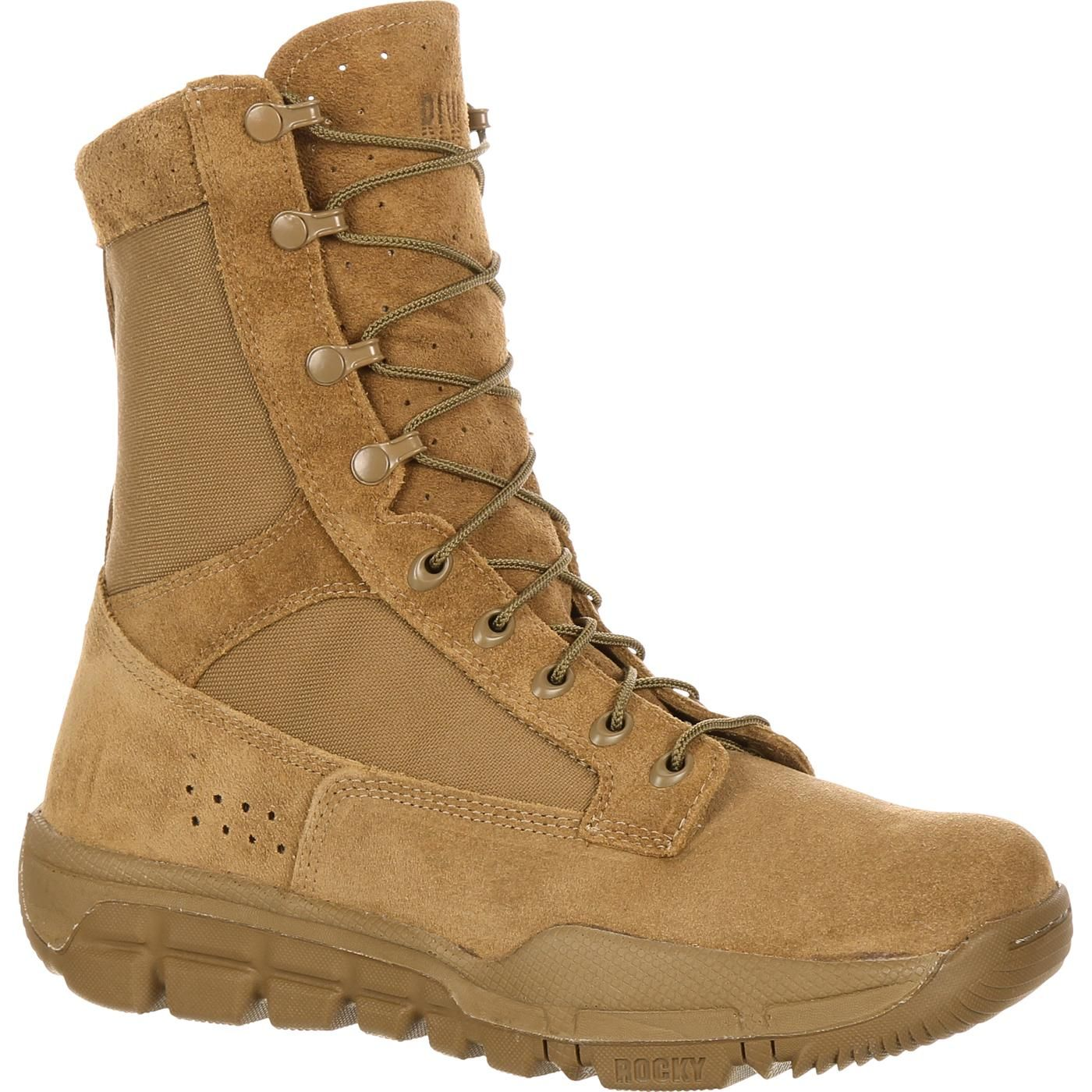 Rocky Lightweight Commercial Military Boot In 2020 Military Boots Tactical Boots Boots