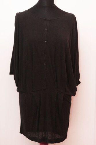 COS Kleid Tunika schwarz Seide lagenlook vintage S | eBay