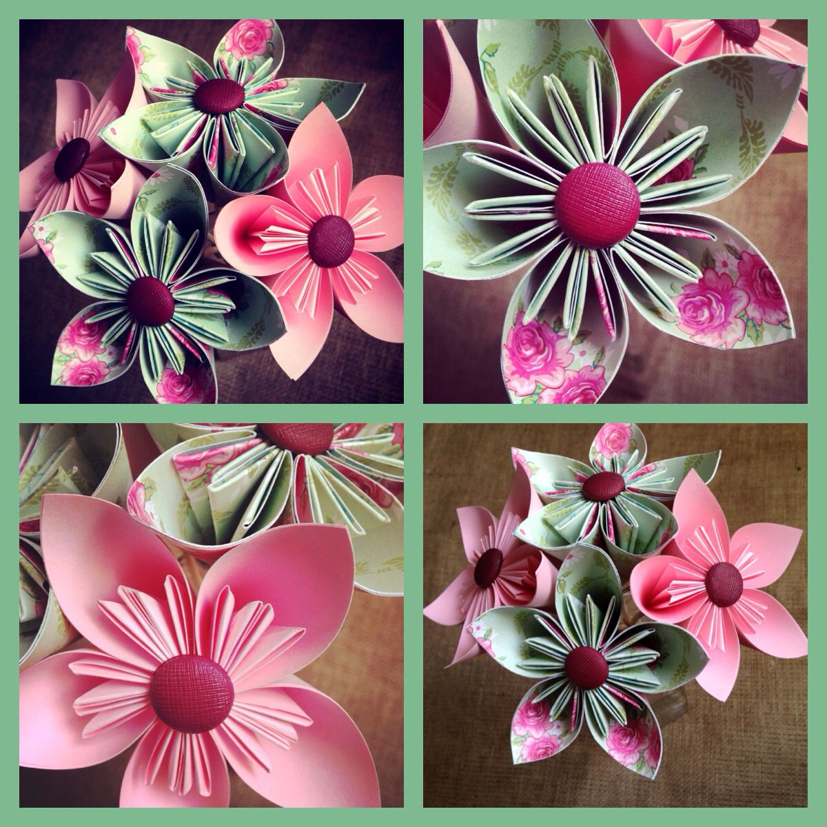 mothers day origami flower bouquet origami pinterest