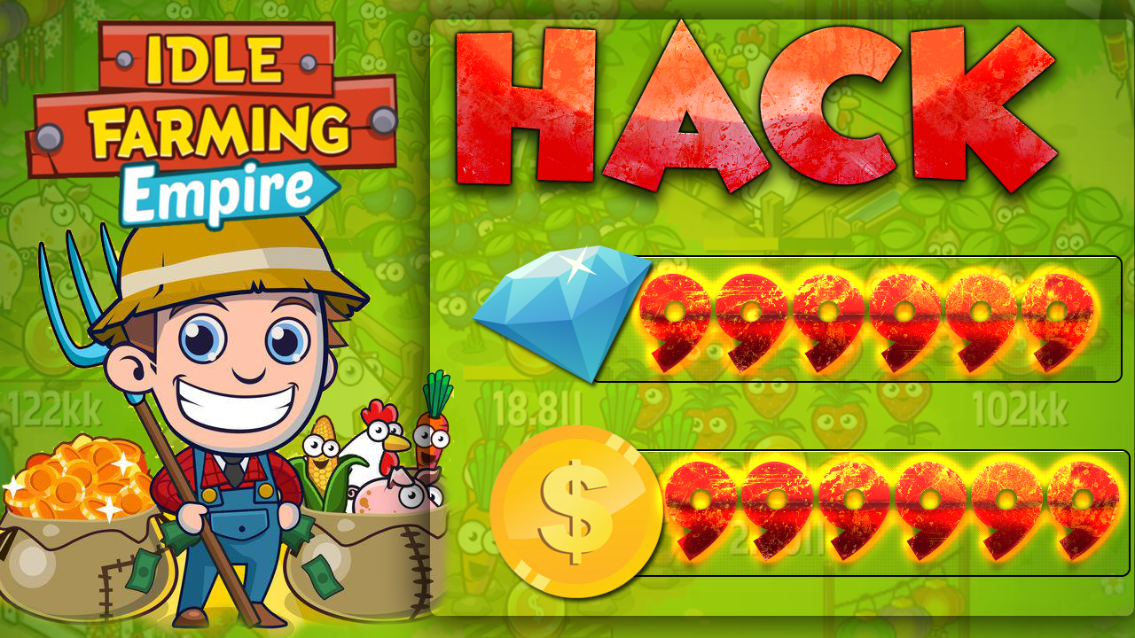 Idle Farming Empire Hack Apk Unlimited Free Coins And Gems Android Ios Play Hard To Get Empire Free Gems