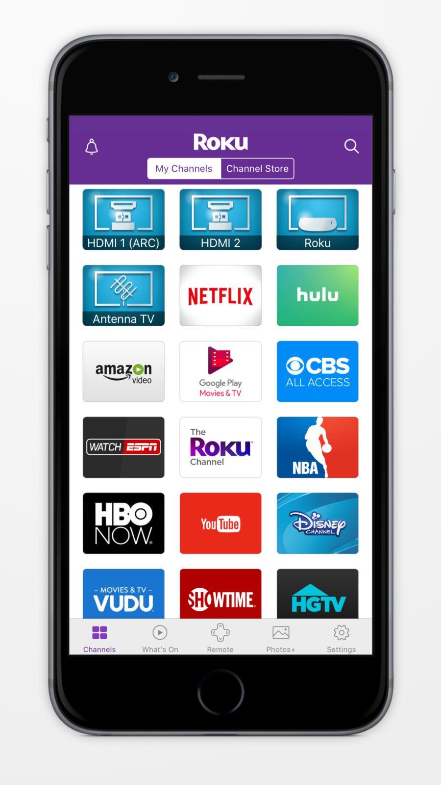 Roku iosappsappUtilities Disney now, App