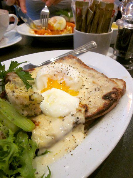 Croque-Madame from what seems like forever ago.