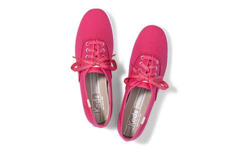 Hot pink keds!!!!!   Leather keds, Keds