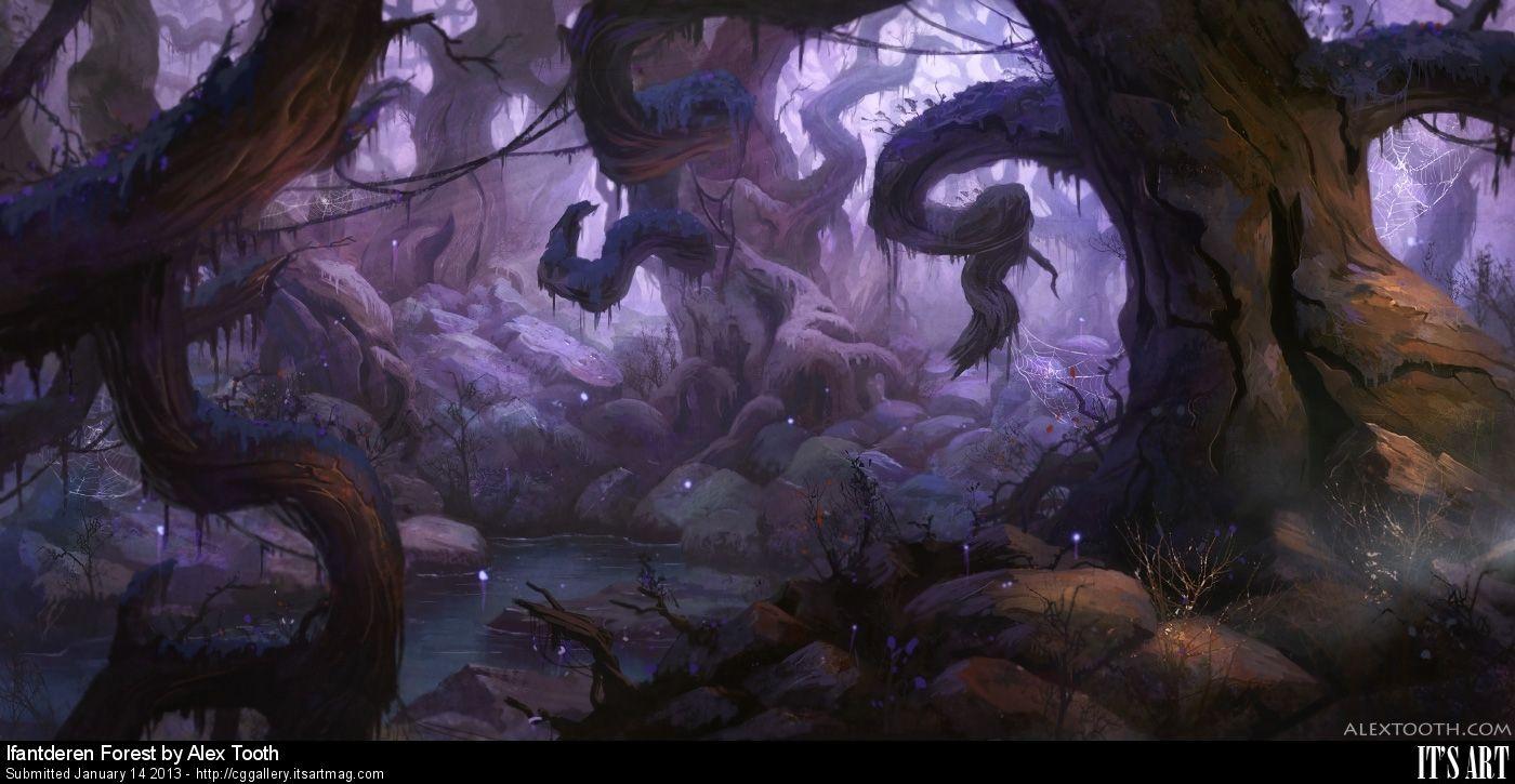 IT'S ART MAG FANTASY WORKSHOP 2 with Alex Tooth - Page 4 of 4 - Exclusive Tutorials, Fantasy Workshop