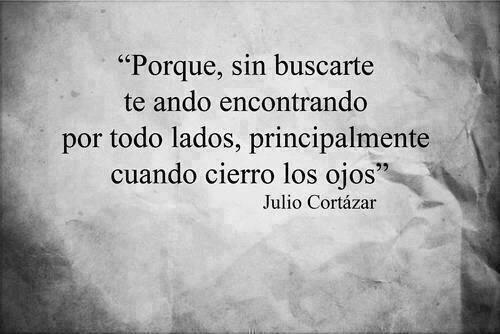 Julio Cortázar.