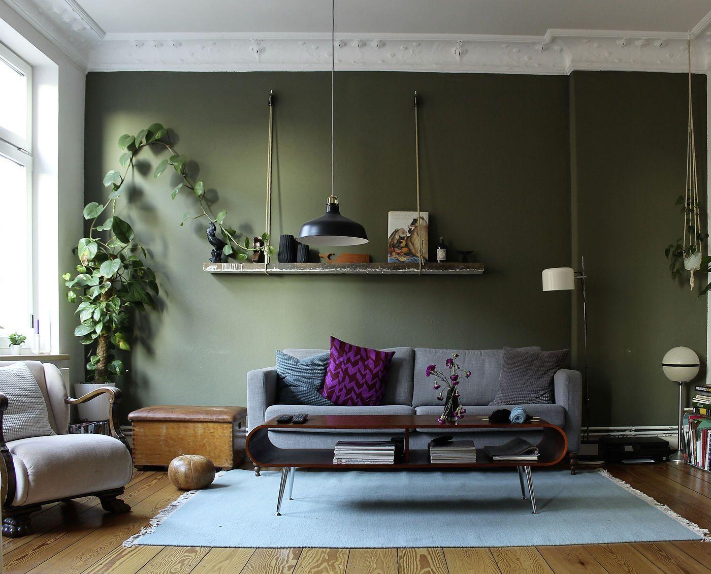 5 Durchschnittlich Bild Von Wohnzimmer Ideen In Grün  Wohnzimmer