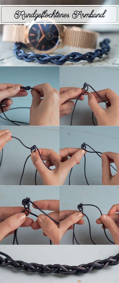 Photo of Anleitung für 3 DIY Armbänder