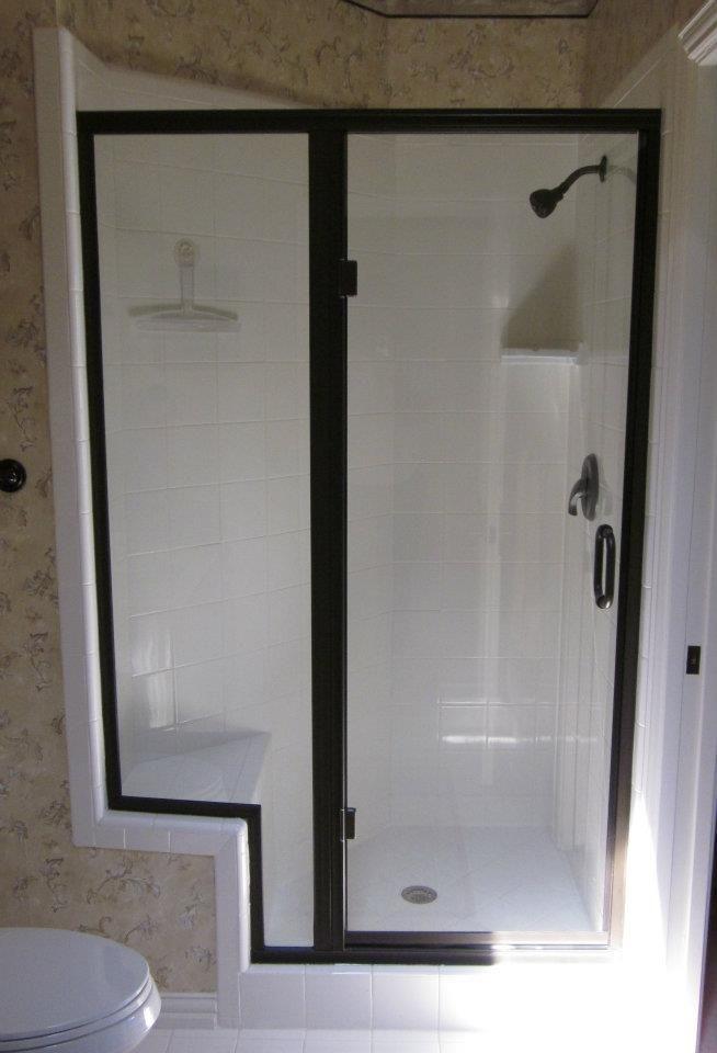 Shower Door And Bathtub Surround Options Accessories With Images Shower Doors Bathtub Surround Custom Shower Doors