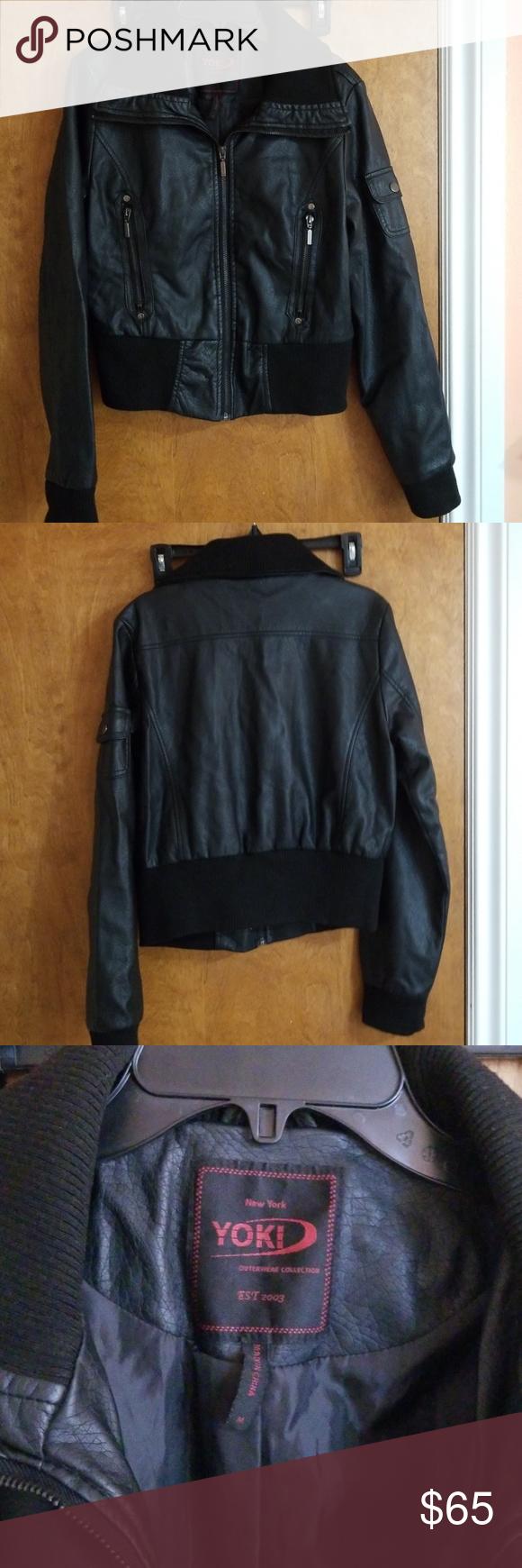 Yoki Faux Leather Jacket Leather Jacket Black Faux Leather Jacket Faux Leather Jackets [ 1740 x 580 Pixel ]