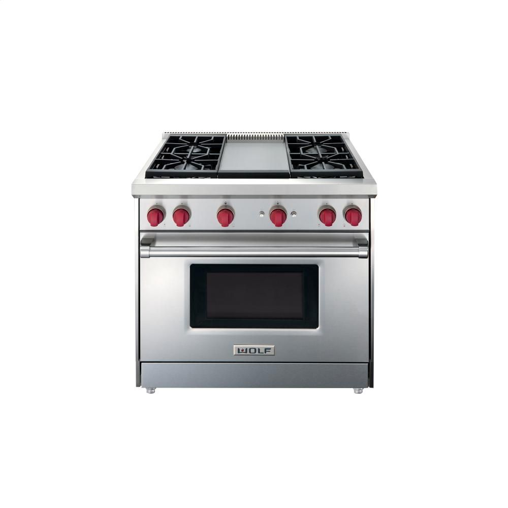 Buy Wolf Ranges In Boston Pro Cooking Gr364g Gas Range Cooking Appliances 36 Gas Range