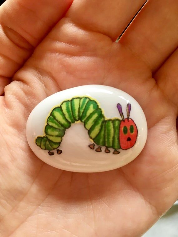 The Hungry Caterpillar, Story Stones, Reversible, Hungry Caterpillar, Gift Idea, Preschool Learning, Early Years