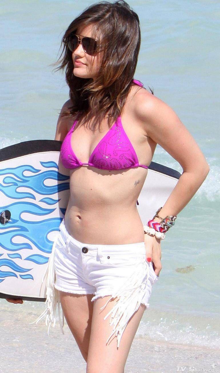 lucy hale bikini photos | TV Shark - Lucy Hale Bikini ...