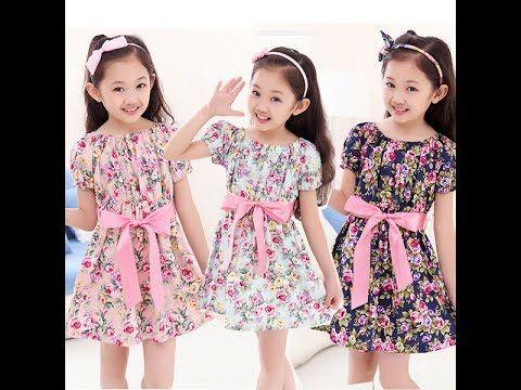 اجمل فساتين اطفال بالوان روعة ملابس اطفال بناتي صيف 2017 فساتين بنات للعيد Youtube Kids Dress Dresses Summer Dresses