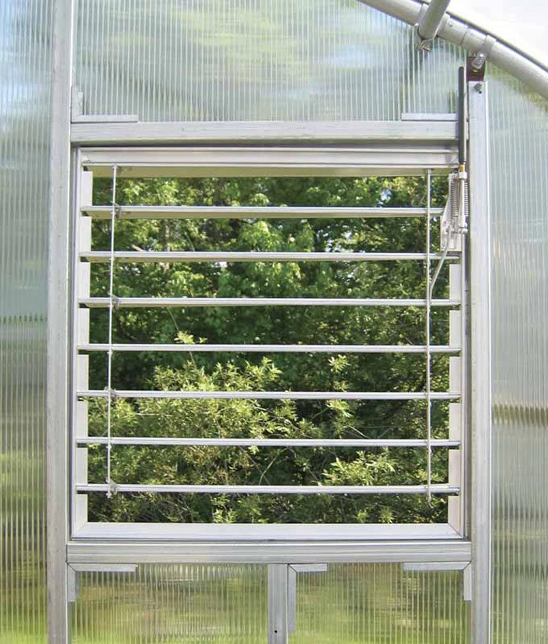 Enhance airflow with our adjustable aluminum louver