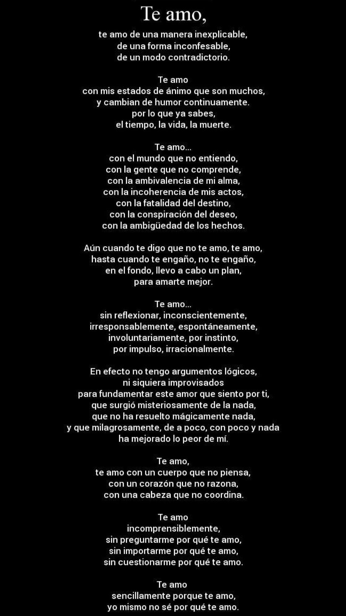 Pin De Vida En Amor Pinterest Pablo Neruda Feelings Y Love