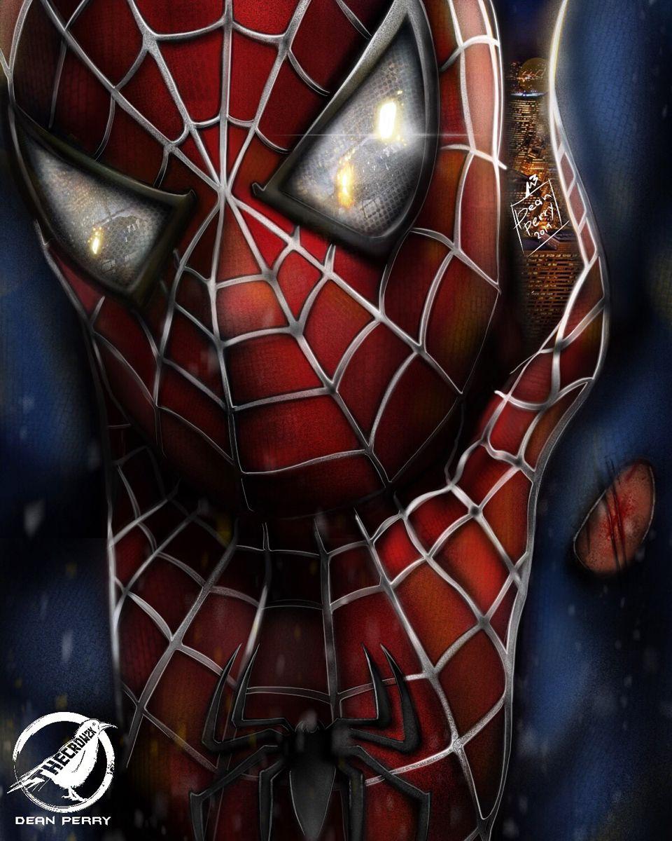 Spider Man 4 Concept Art Spiderman Amazing Spiderman Spider Man Trilogy