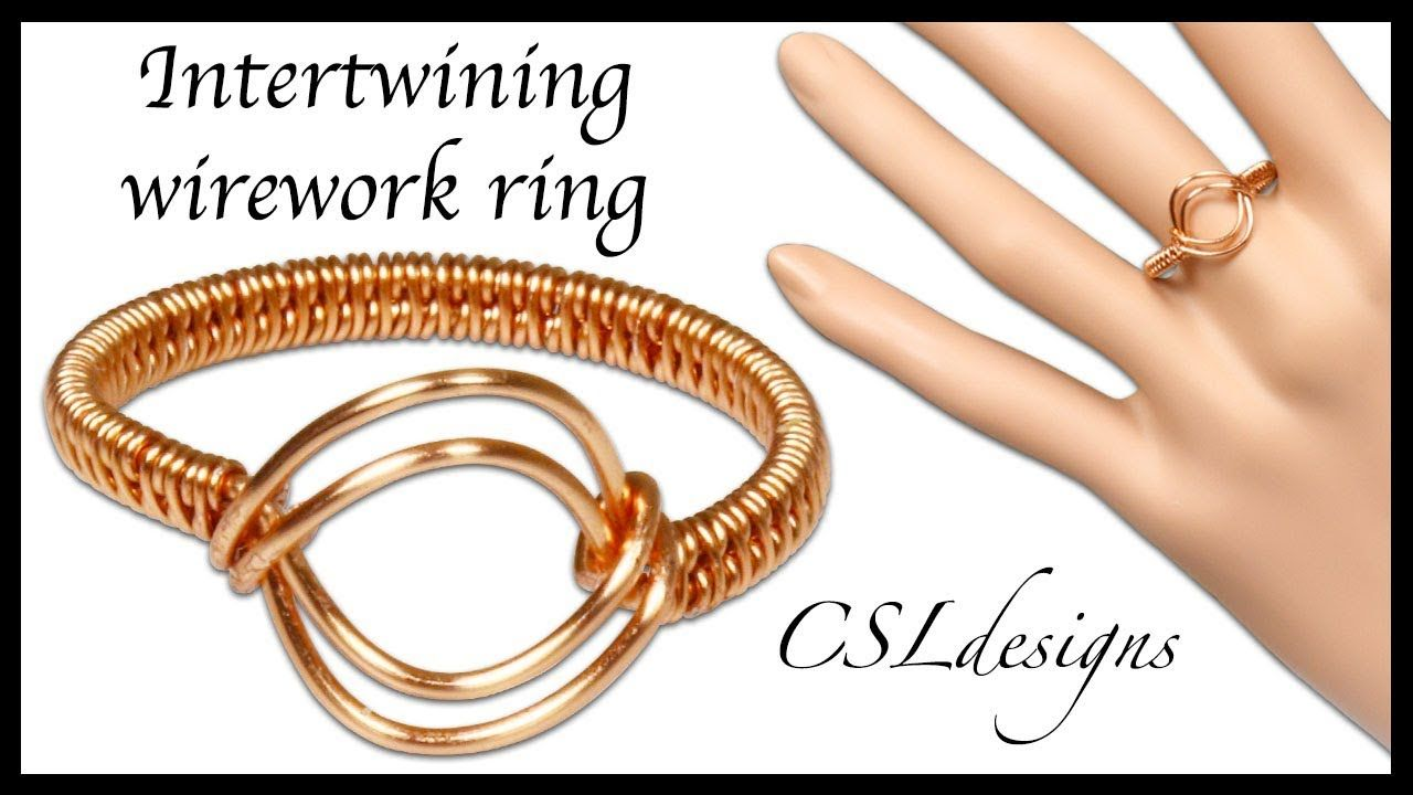 Intertwining wirework ring | Jewelry - Rings | Pinterest