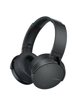 Mdr Xb950n1 Noise Cancelling Extrabass Wireless Headphones Black Bluetooth Noise Cancelling Headphones Noise Cancelling Headphones Bass Headphones