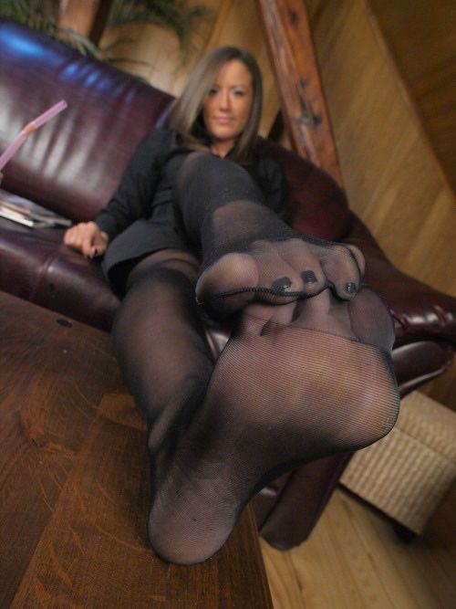 Lesbian pantyhose foot worship escort tickle part 3 3
