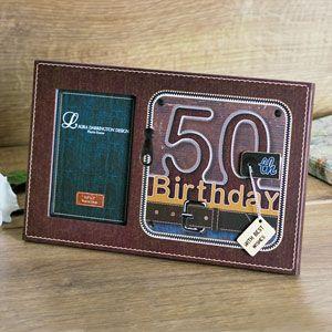 Laura Darrington 50th Birthday Photo Frame