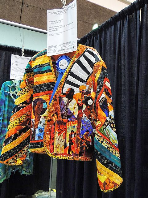 Pacific International Quilt Festival 15 - Unfortunately the person who photographed this piece didn't identify the maker - va/