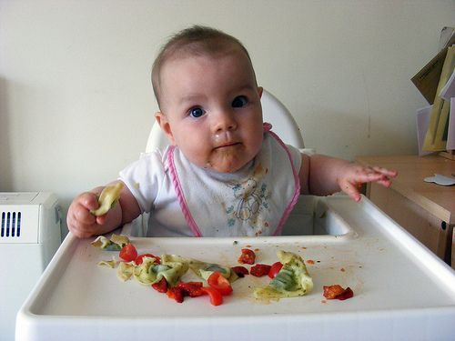 led weaning food ideas.. this lady is funny, and there are some simple great ideas :)