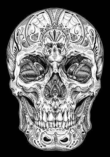 Pin By Carrie Sponaugle On Skulls Skulls Badass Skulls