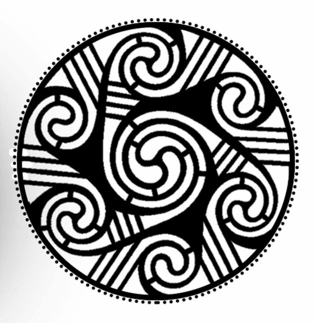 Minimalist tattoo wheel of taranis with simple dot design for minimalist tattoo wheel of taranis with simple dot design for strength and courage buycottarizona