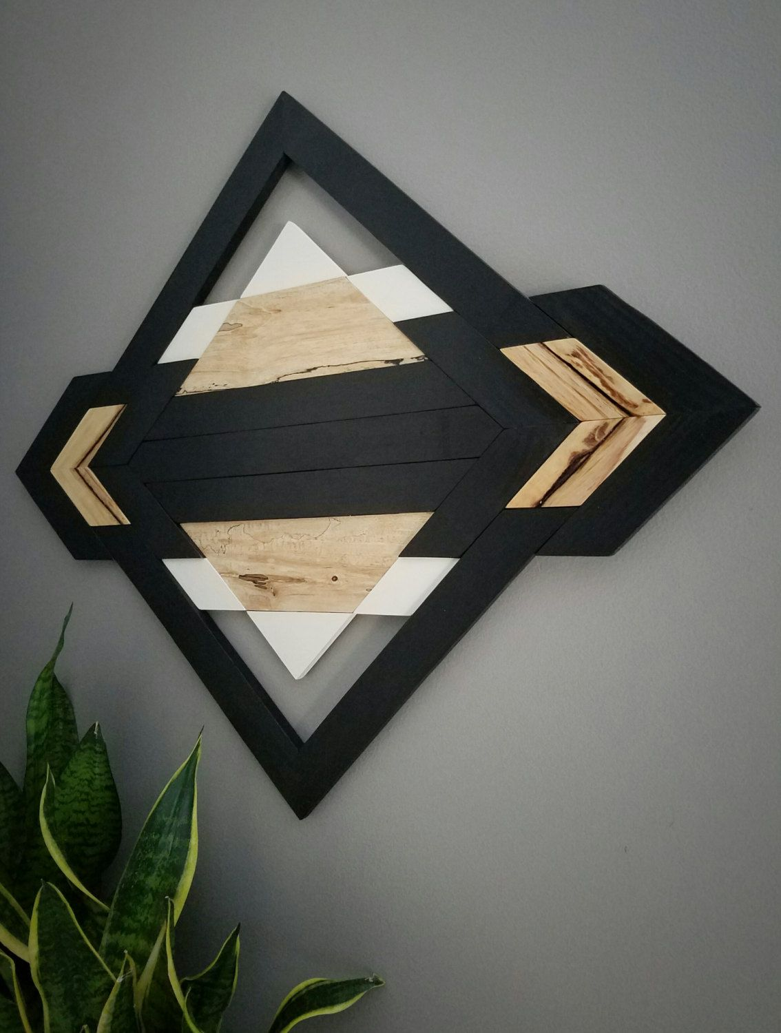 One of A Kind Wood Wall Art Reclaimed Wood от am2interiors